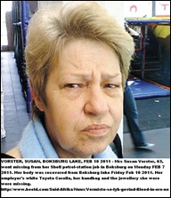 Vorster Susan 63 found murdered Boksburg lake Feb72011