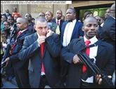 HATESPEECH CASE MALEMA BODY GUARD MACHINEGUNS JUDGE ORDERED REMOVED FROM COURTROOM APR132011