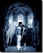 angel y mujer