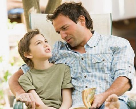 hablar con niño