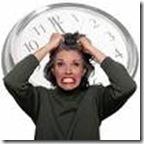 tiempo estresante