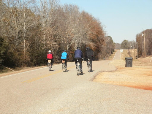 4 riders on Wadsworth Loop