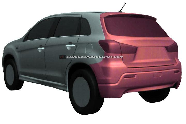 Mitsubishi's Small Crossover Concept