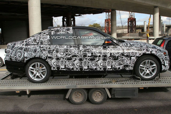 BMW 3 Series Spied (F30)
