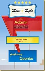 Drive in Invite Adams 2