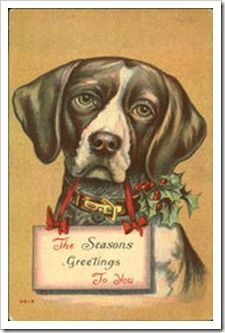 Vintage Seasons Greetings