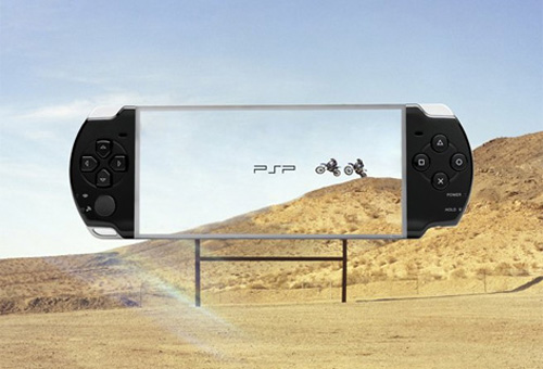 PSP创意广告