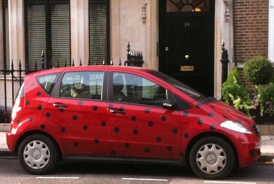 10.09.23 Dotting car