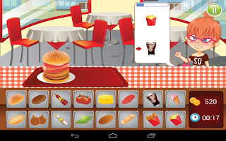 Screenshot of Burger Dash 2