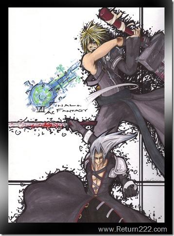 Cloud_vs__Sephiroth_by_XANGELOS