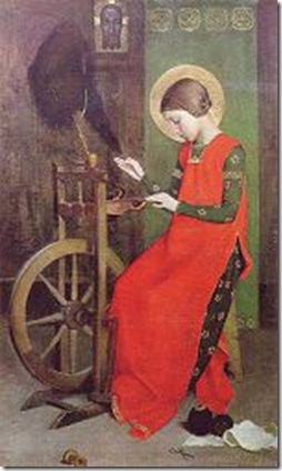 150px-Marianne_Stokes_St_Elizabeth_of_Hungary_Spinning_for_the_Poor