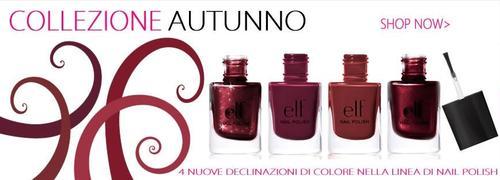 ELF nail polishes collezione autunno