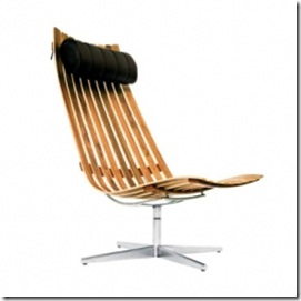 Scandia senior easy chair 1957