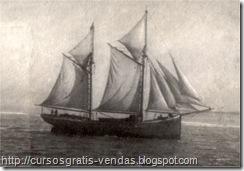 Barco vela antigo