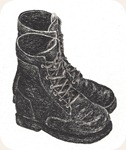 Boots ©LKHunsaker 2010