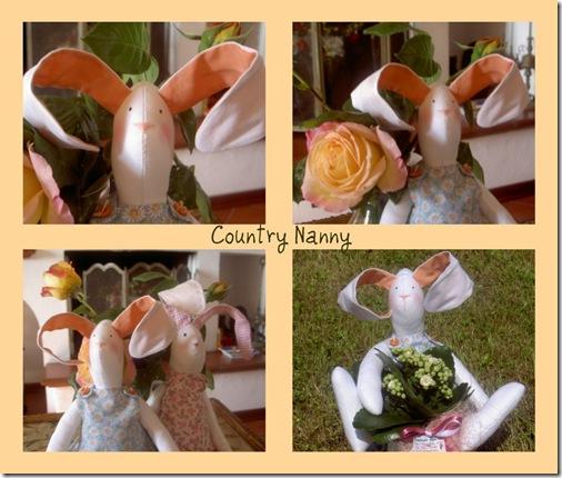 coniglio collage