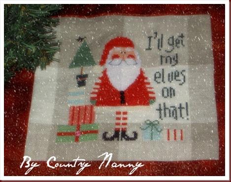 Santa Claus Banner 2