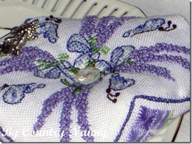 Lavender biscornou2