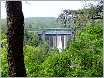 Tallulah Dam From Overlook 4
