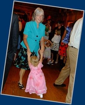 Grandma and Kalina Dancing
