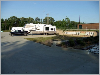 The Parking Area at Suncoast RV