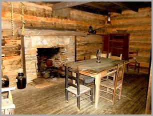 Interior of the Savannah House