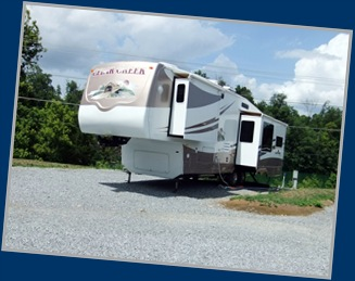 Our Site At Lakeview RV Park