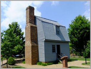 Replica Johnson's Birthplace