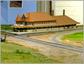 Model of Union Station