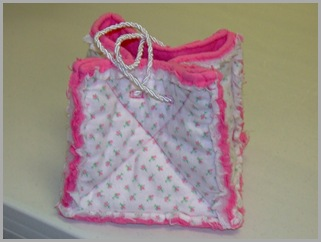 Rag Bag That I Use For Crotcheting Supplies