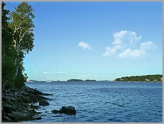 Along Harpswell Sound