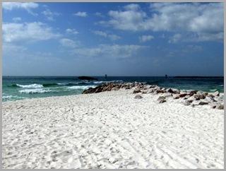 Finally, A Rocky Beach