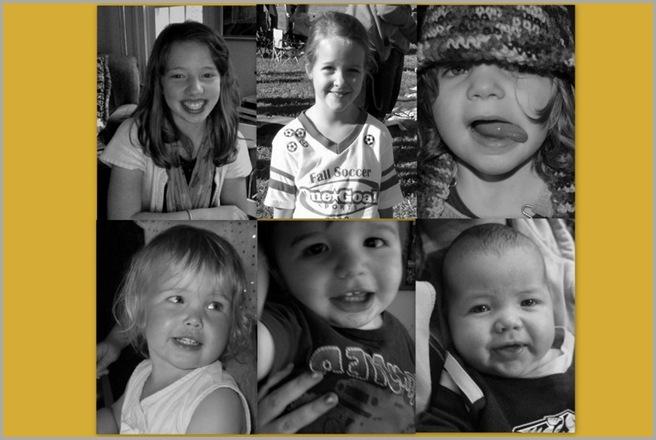 Briana, Catia, Lola, Kalina, Rocco, Radek