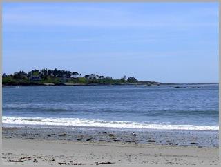 Island Off Cresent Beach