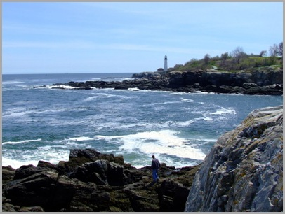 Looking Southwest From Fort Williams (Portland Head Light)