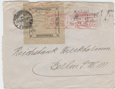 Officail postal seal cover
