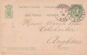 P53-Paquelet pricelist to England 1898 front