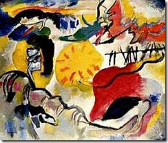 Improvisation No. 27 (Garden of Love)-Wassily Kandinsky