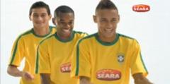 Seara- robinho, neymar e ganso