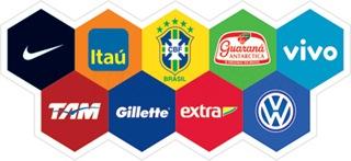 patrocinadores da seleção