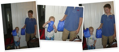View blue bag