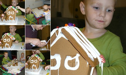 View gingerbread house