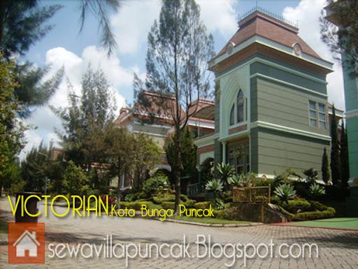 villa VICTORIAN Kota Bunga Puncak