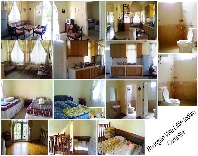 Villa Little Indian 3 Kamar tidur