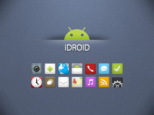 iDroid A Beautiful Android Icon Set