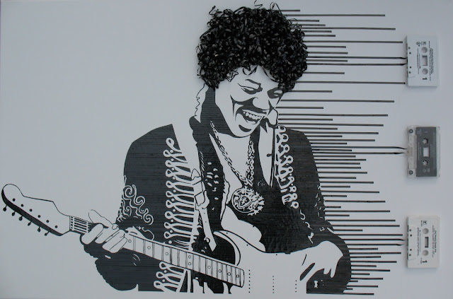 Ghost in the Machine - Extraordinary Artwork by Erika Iris Simmons - Showcase a number of portraits of 