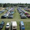Pysäköintialueet olivat täynnä autoja erityisesti sunnuntaina.
