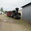 H.K.Porterin vetämään puistojunaan kuului myös Äänekoski-Suolahden radan matkustajavaunu. Juna liikennöi festivaalialueella.