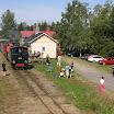 Hyvinkään-Karkkilan rautatien veturi nro 5:n vetämä museojuna lähdössä Minkiön asemalta. Kuva: Teemu Virtanen