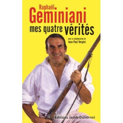 Geminiani - mes 4 verites